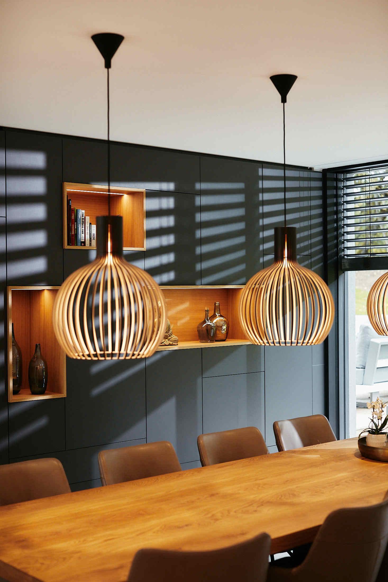 Esstiusch Beleuchtung Haustechnik